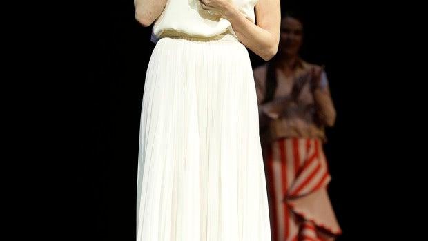 La actriz Paz Vega en la entrega del Premio Málaga Sur
