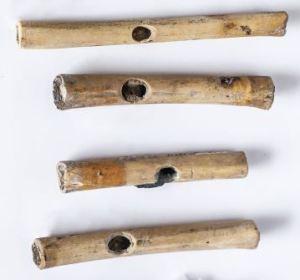 La flautas encontradas