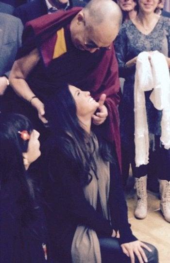 Selena Gomez vetada en China y Rusia - Dalai Lama