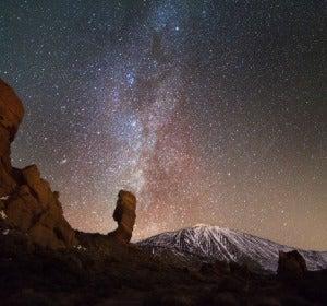Cielo estrellado de Tenerife