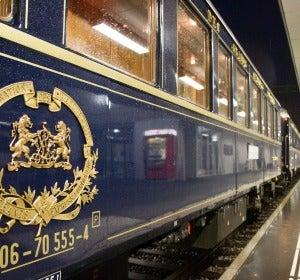 Vagones históricos del Orient-Express