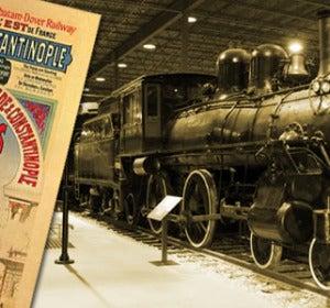 La antigua locomotora del Orient-Express