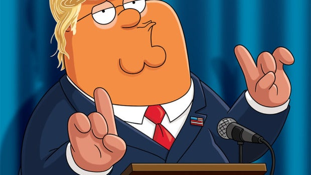 Donald Trump Padre de Familia