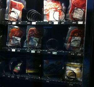 Máquina expendedora de carne