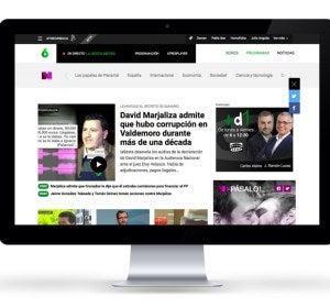 Nueva web de Atresmedia