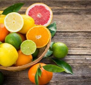 Alimentos naturales, bajos en calorias y antioxidantes