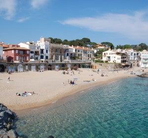 Playa de Palafrugell (Girona)