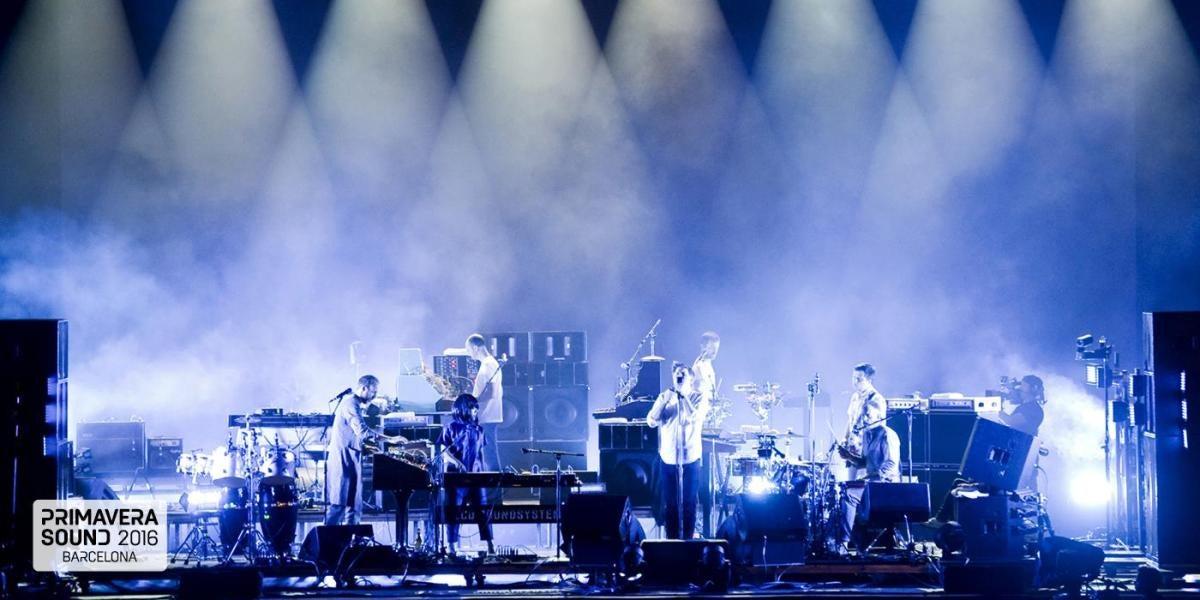 LCD Soundsystem en el festival Primavera Sound 2016 de Barcelona
