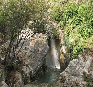 Las fuentes del Algar en Alicante