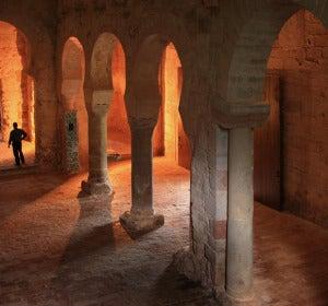 Interior del Monasterio de Suso