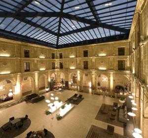 Atrio del Hotel Los Agustinos (Haro)