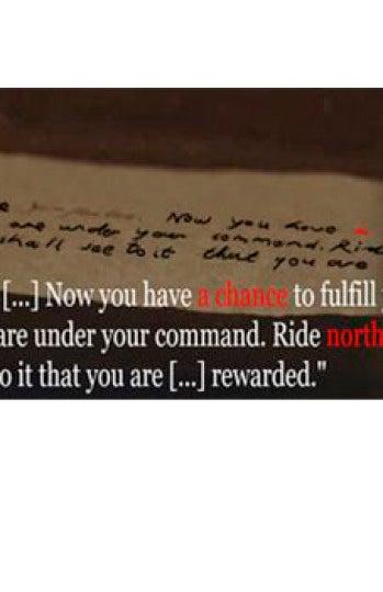 Carta 'Juego de Tronos'