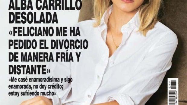Alba Carrillo y Feliciano López se separan