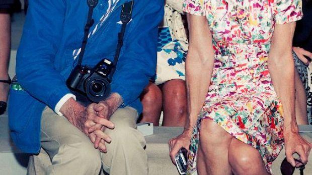 Bill Cunningham y Anna Wintour