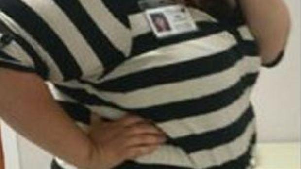 Brittany Michelle Hines después de perder peso
