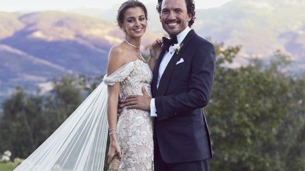 Gabriela Palatchi y su marido Ediz Elhadef