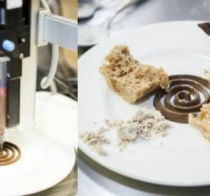 Restaurante de comida impresa en 3D