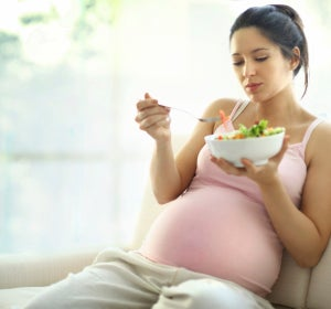 Comer durante el embarazo