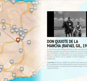 Mapa Cine Español Wimdu