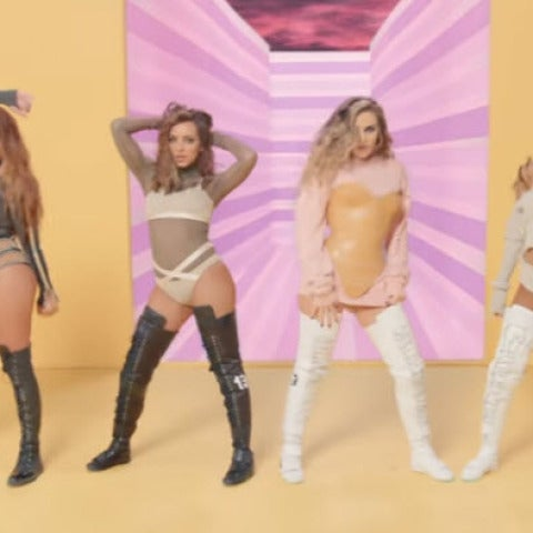 Little Mix en su videoclip 'Touch'