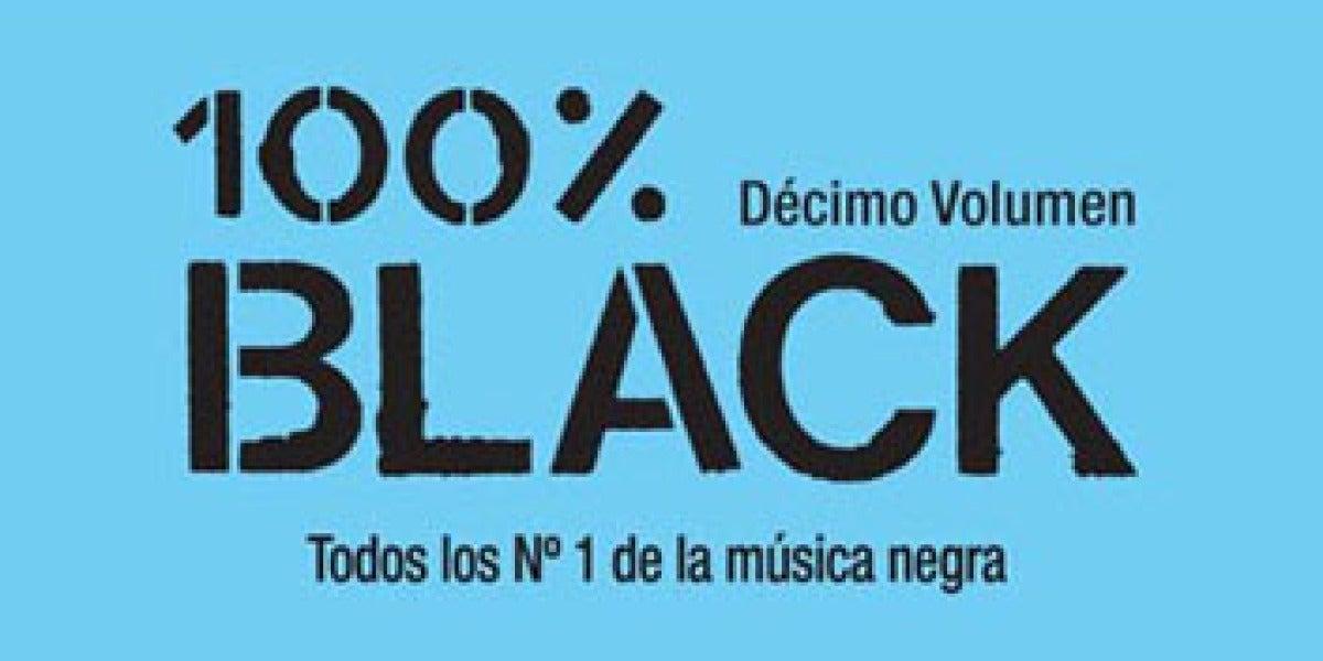 100% Black, el recopilatorio con todos los éxitos de música negra