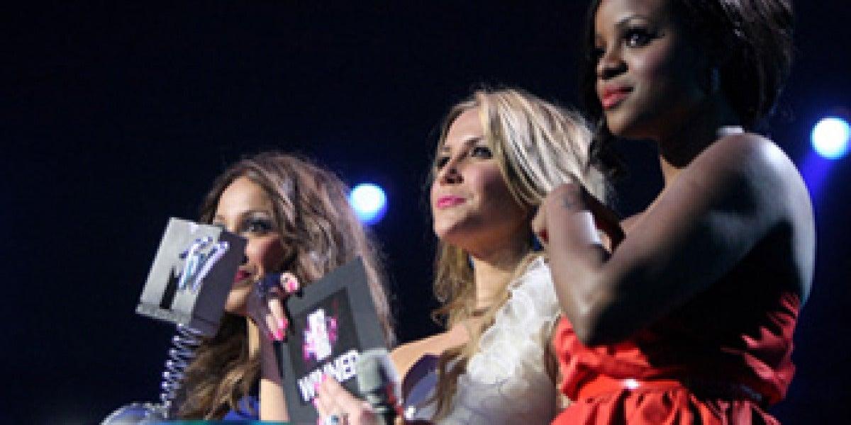 Sugababes en los MTV Europe Music Awards 2008
