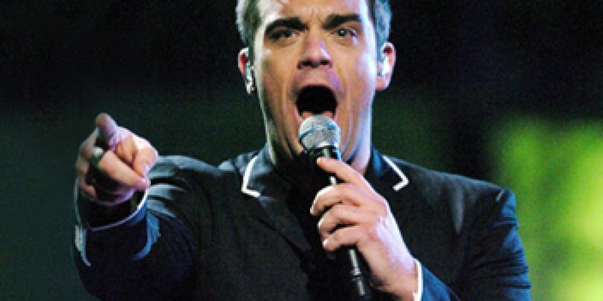 Robbie Williams en concierto