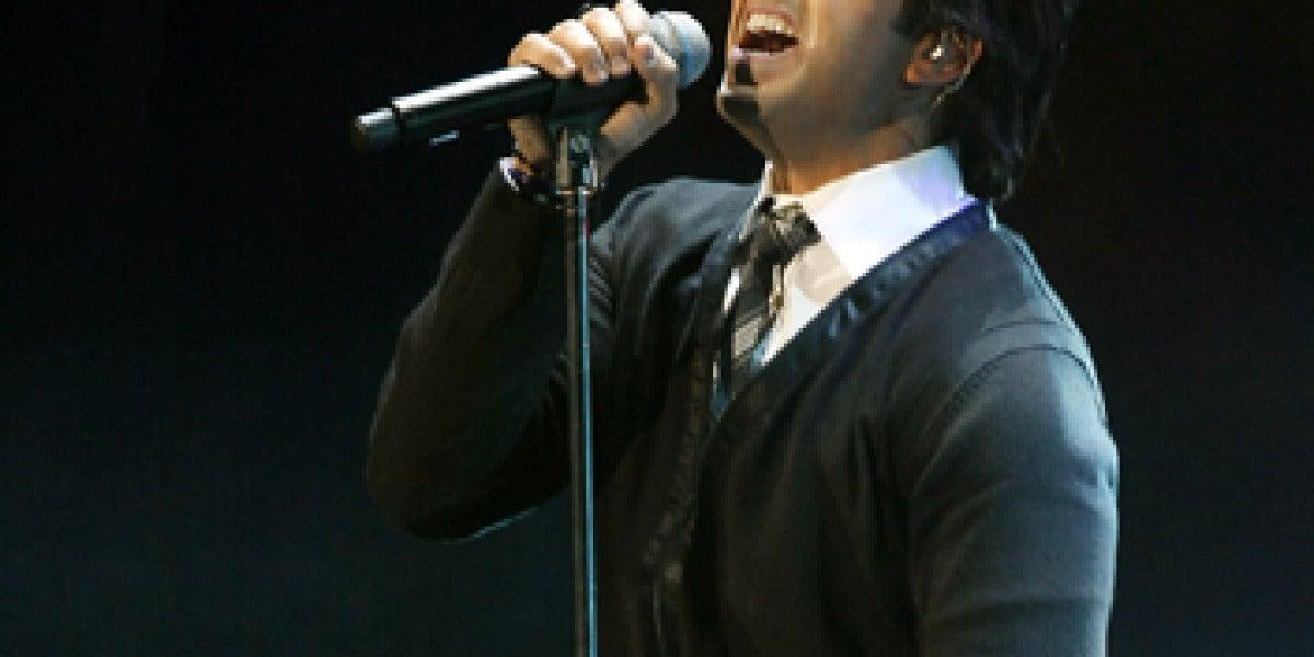 Luis Fonsi en concierto