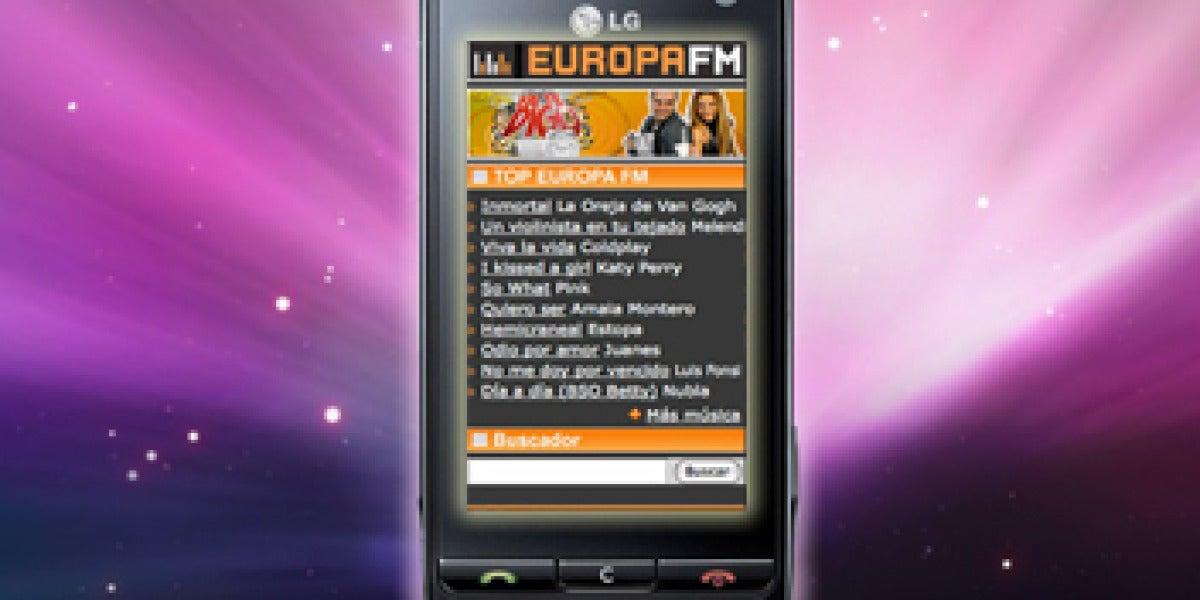 Europa FM en tu móvil