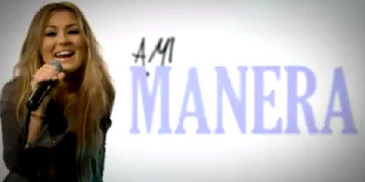 Amaia Montero en el vídeo de 4 segundos
