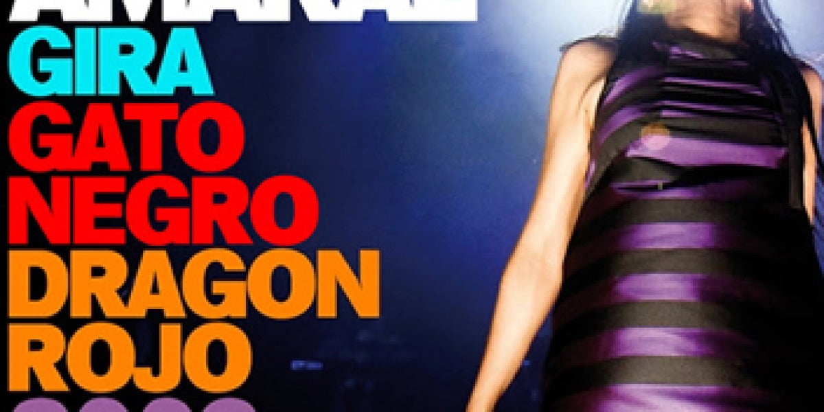 Amaral gira Gato Negro Dragón Rojo 2009