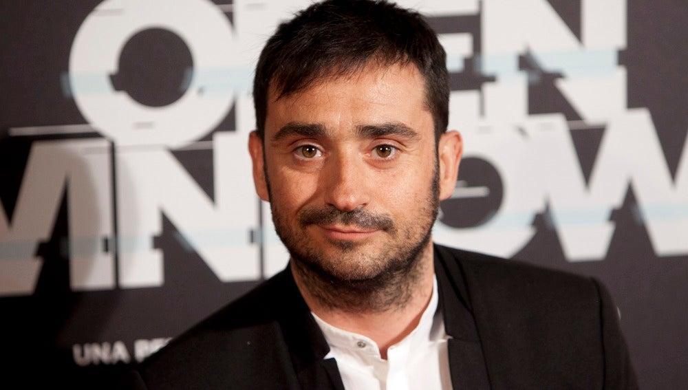 J.A. Bayona en la premiere de 'Open Windows' en Madrid