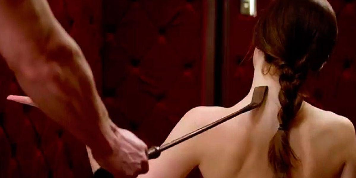 Las imágenes más sexuales de 'Cincuenta Sombras de Grey'