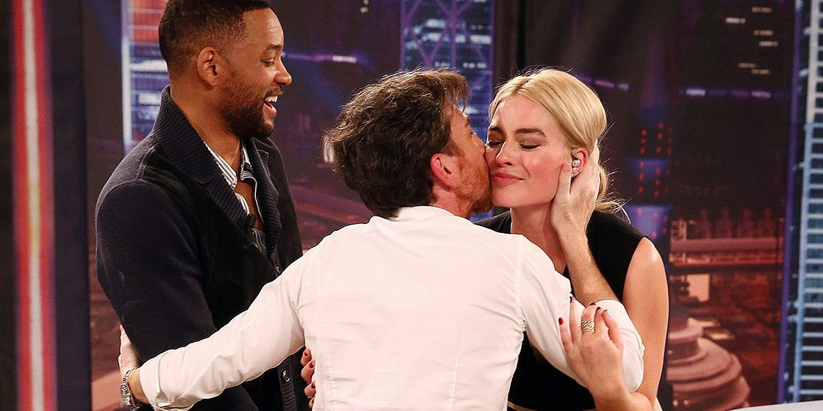 Will Smith y Margot Robbie en El Hormiguero 3.0