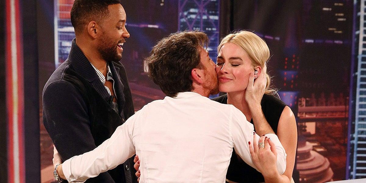 Will Smith y Margot Robbie en El Hormiguero 3.0