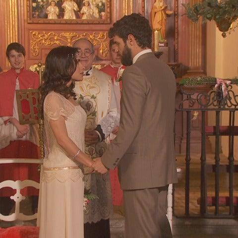 Bosco e Inés se convertirán en marido y mujer