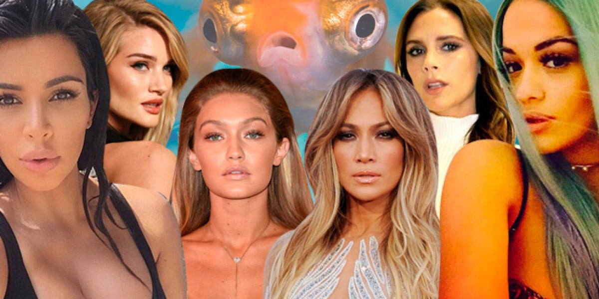 Las celebrities saben que la 'boca pez' favorece