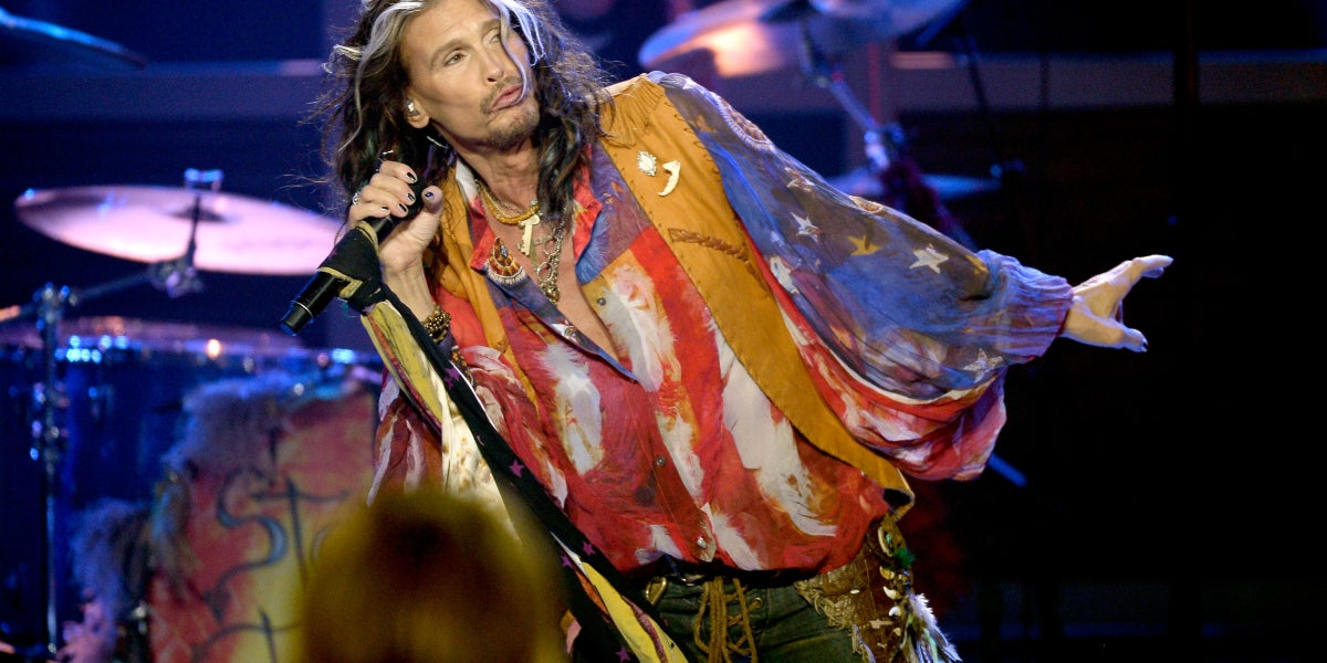 Steven Tyler, cantante del grupo Aerosmith