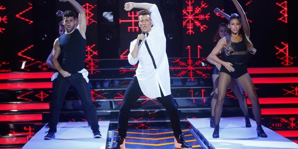 Pablo Puyol imita a Ricky Martin