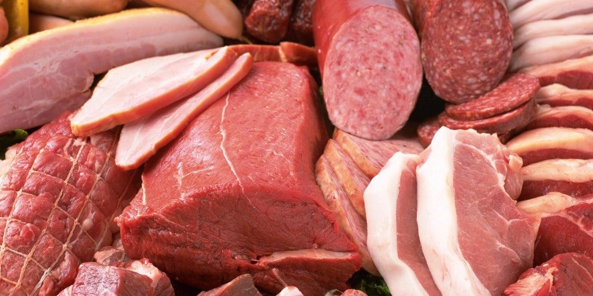 Carne roja procesada