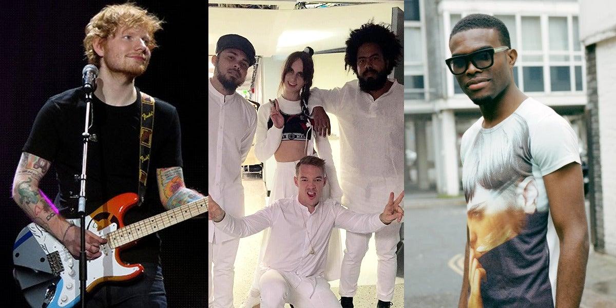 Ed Sheeran, Major Lazer y OMI, los más escuchados en Spotify
