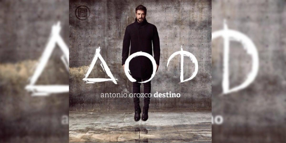 'Destino' es el octavo disco de Antonio Orozco