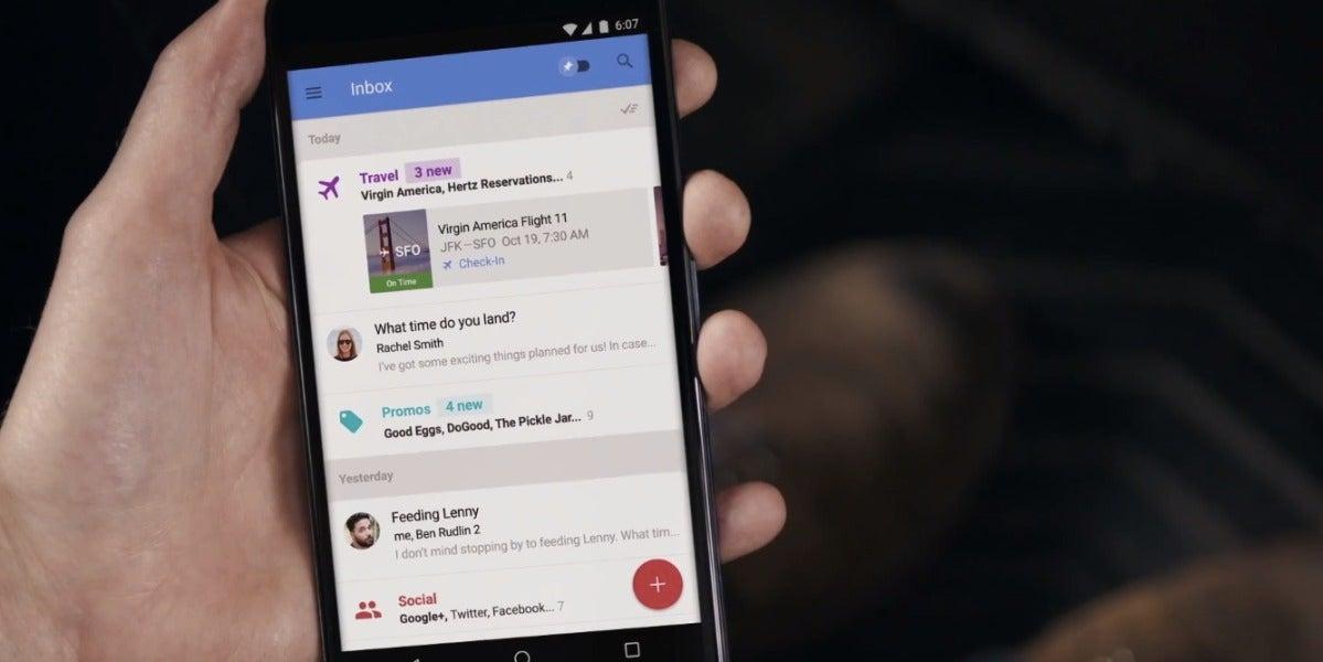 Google se está cansando de Gmail