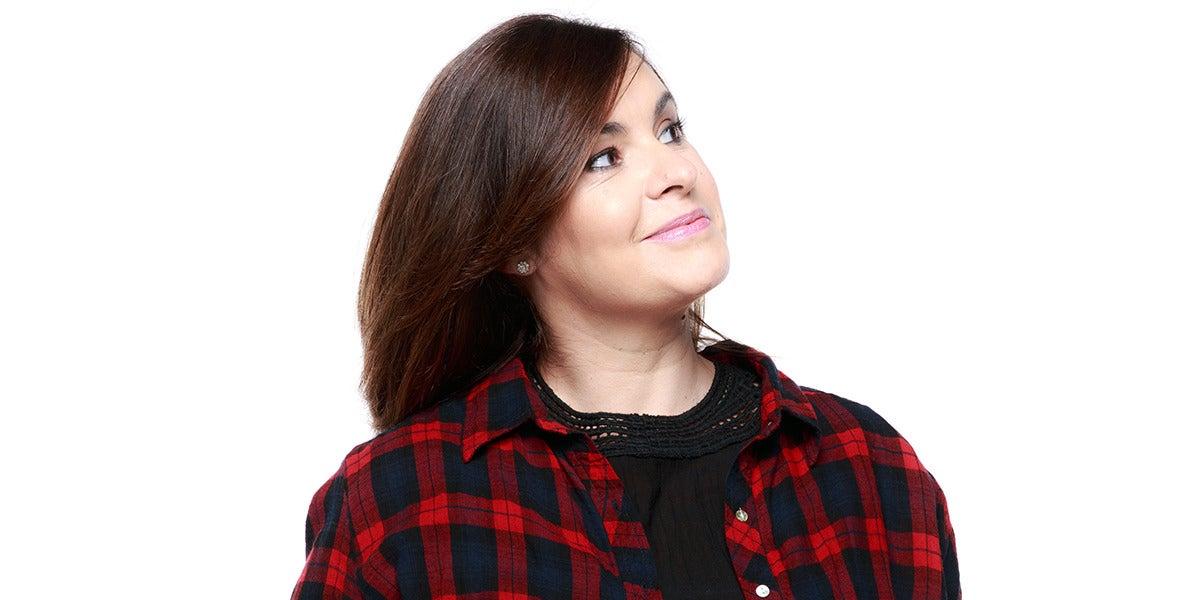 Cristina García, locutora de Europa FM
