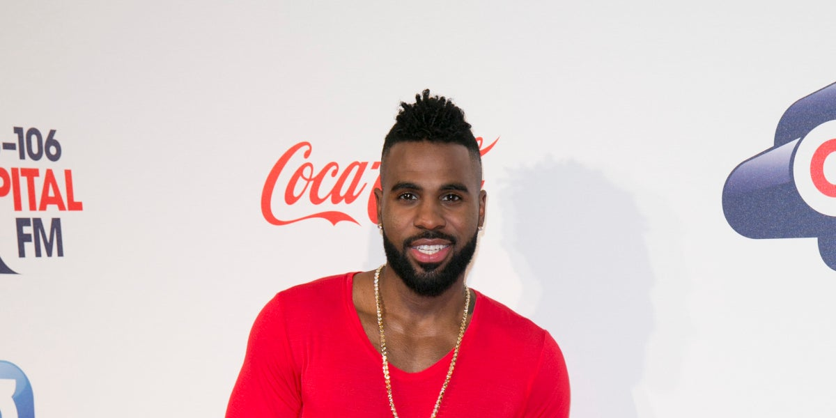 Jason Derulo en el Jingle Bell Ball