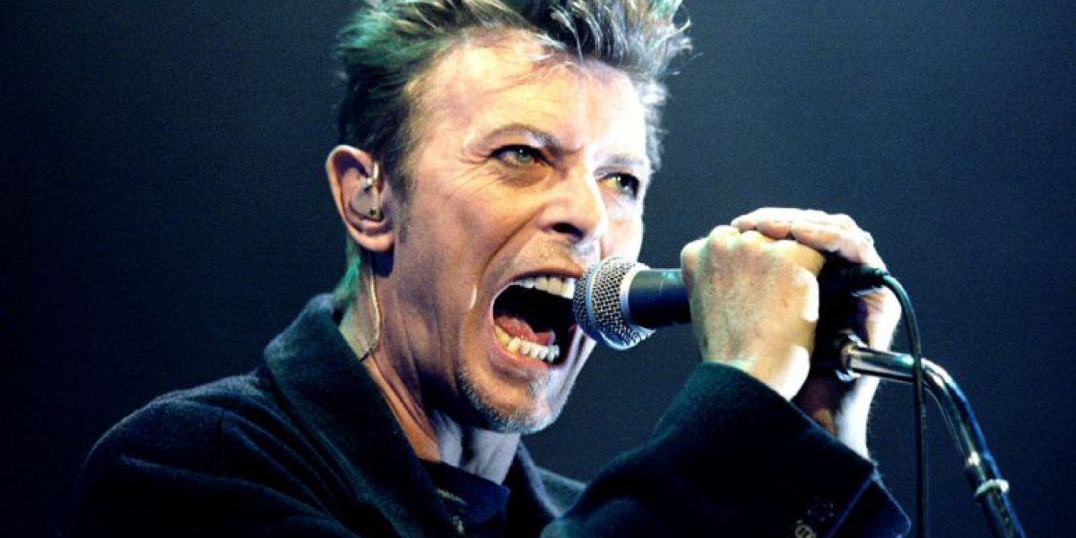 El músico británico David Bowie