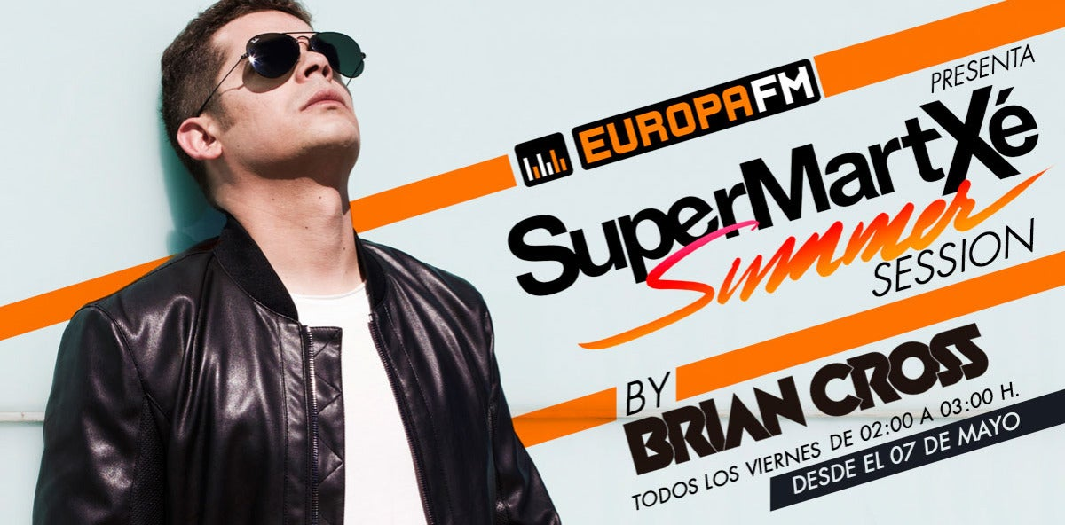 Brian Cross Radio Show - SuperMartXé Radio Session