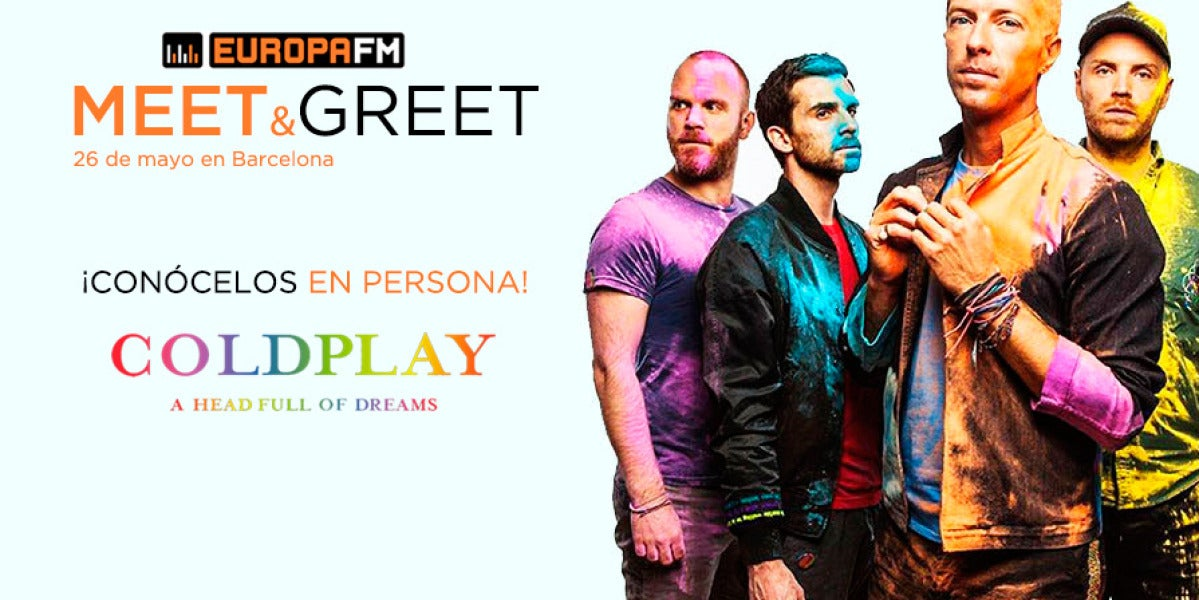 Superdestacado Coldplay Meet&Greet