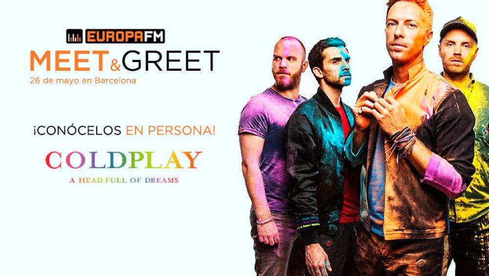 Superdestacado Coldplay Meet&Greet