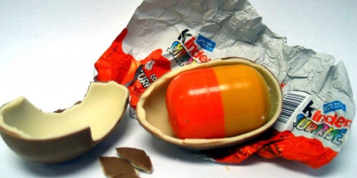 Encuentran metanfetamina en el interior de un huevo Kinder Sorpresa